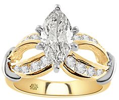 Infinity with a Marquis Diamond. I think this is my favorite. :p