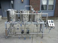 Homebrew Setup, Homebrewing Sculptures, Home Brewing Stands, Beer Brewing Rigs…