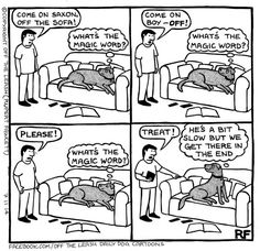 The Stand Off - Off The Leash by Rupert Fawcett