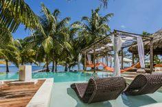 Une des plus belles piscines El Secreto Ambergris Caye, Belize