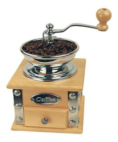 Take a look at this Coffee Grinder by Fox Run on #zulily today! For when the power goes out!!! :)