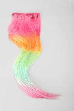 #rainbow #hair #extensions