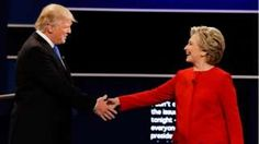 Image copyright                  AP                  Image caption                                      Clinton was criticised for smiling too much – Trump was noted for interrupting his opponent                                Ahead of time, many wondered if Donald Trump – who in past debates with his mostly male Republican rivals used insults and pe