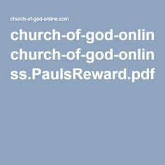 church-of-god-online.com ss.PaulsReward.pdf