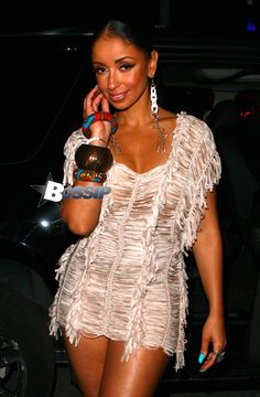 """Miss """"Thicky Thighs"""" Mya Puts Her Lovely Legs And Bangin' Bawwwdy On Blizzast For Miami Album Release Mya Harrison, Kylie Jenner Fotos, Lovely Legs, I Love Fashion, Most Beautiful Women, Pretty People, Her Hair, Thighs, Celebrity Style"""
