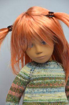 Handmade Tunic for Sasha. Sasha Doll, Doll Outfits, Knitted Dolls, Hello Dolly, Vintage Dolls, Dollhouses, Beautiful Dolls, Redheads, Art Dolls