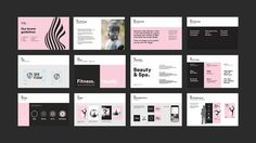 Behance is the world's largest creative network for showcasing and discovering creative work Brand Guidlines, Book Furniture, Wellness Studio, Behance, Brand Book, Graphic Design Projects, Australia Living, Editorial Design, Brand Identity