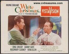 White Christmas, 1954 Bing Crosby Danny Kaye Lobby Card