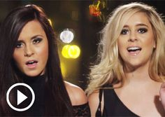 """""""Megan & Liz Debut 'In the Shadows Tonight' Video"""" - their voices are GORGEOUS!"""