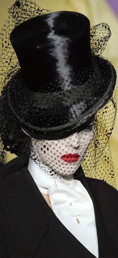 ☫ A Veiled Tale ☫ wedding, artistic and couture veil inspiration - Christian Dior