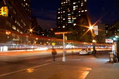 union square during the night