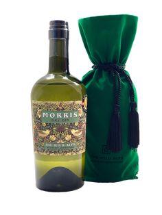 MORRIS DRY GIN  in Velvet Sachet 700 ML, 47%vol William Morris, Dry Gin, Alps, Perfume Bottles, Velvet, Perfume Bottle