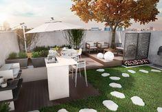 Un giardino per festeggiare con gli amici! Scopri come organizzare il tuo giardino per accogliere i tuoi amici e fare feste all'aperto. Realizza uno spazio funzionale in stile giapponese: http://www.leroymerlin.it/idee-progetti/progetti-esterno/giardino-piccolo