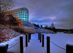 Arktikum museum, Rovaniemi, Finland. I visited this amazing structure in the Arctic Circle.