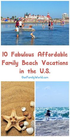 Family beach vacations can create lifelong memories for the whole family! All that sand, sun and surf is so much more fun than hanging out by a hotel pool every day. Here are some great affordable family beach vacations.
