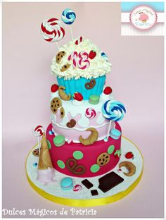 Candy, candy and more candy cake :)