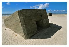Bunker in coastal Denmark