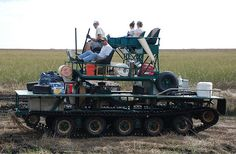 Florida Swamp Buggy   Full track Swamp Buggy on the Everglades Prairie...easy ridin :-)