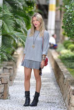 Coturno é tendência no inverno 2015. Confira no Moda que Rima.