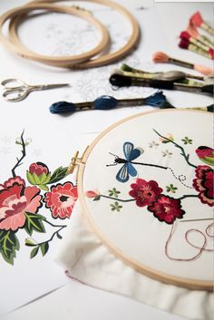FREE EMBROIDERY PATTERNS from DMC.
