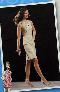 Dress and Top Sewing Pattern UNCUT Simplicity 2927 Sizes 4-12