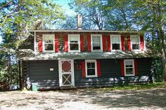 Robinson's Cottages are fourth-generation vacation and sporting cottage rentals in Downeast Maine located on the Dennys River. We are located near Machias, Calais, Lubec & Eastport. Maine Cottage, Cottages, Cabin, Adventure, Vacation, House Styles, Acadia Maine, Cottage Rentals, Canoeing