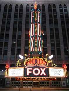 Fox Theater Downtown Detroit