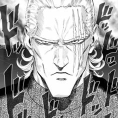 """King from """"One Punch Man"""" One Punch Man King, One Punch Man Heroes, One Punch Man Anime, Anime Echii, Anime One, Strongest Man On Earth, Caped Baldy, Saitama One Punch Man, Man Icon"""