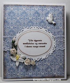 Kondolansekort Condolences, Verse Of The Day, Bible Verses, Scrapbooking, Invitations, Frame, Cards, Picture Frame, Scripture Verses