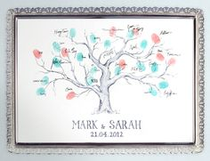 These are quite cute, but I don't know if I'd like this, or an actual guestbook :)