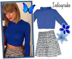 """""""06.10.14 France Radio Interview-Taylor Swift"""" by indicupcake on Polyvore"""