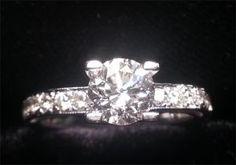 Custom Round Brilliant Cut Engagement Ring Plan My Wedding, Wedding Planning, Dream Wedding, Wedding Day, Round Diamond Engagement Rings, Wedding Wishes, Wedding Attire, Bling Bling, Round Diamonds