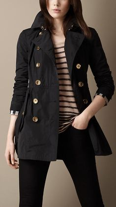 #burberry.com             #Skirt                    #Short #Gathered #Skirt #Trench #Coat               Short Gathered Skirt Trench Coat                                              http://www.seapai.com/product.aspx?PID=564516