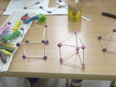 Zajęcia dla dzieci w kl 2 - bryły przestrzenne i figury płaskie. Kreatywne… Maths, Party Games, Diy For Kids, Montessori, Projects To Try, Education, Therapy, Day Care, Onderwijs