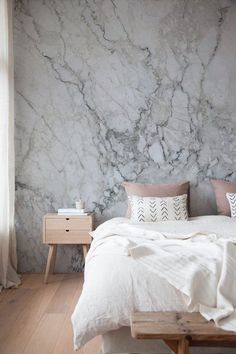 The David - Marble Wallpaper - Sefl-Adhesive Wallpaper - Removable Wallpaper - Wall Sticker - Wall Mural - Customizable Wallpaper