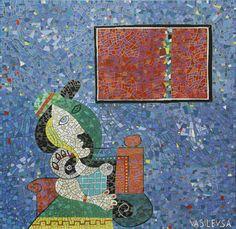 "Saatchi Online Artist Alexandre Vasilev-Vasilevsa; Painting, ""Homage to Pablo Picasso"" #art"