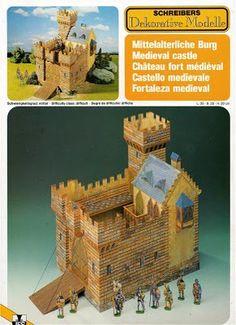 3D Paper Model Brasil: Casas e Edificações