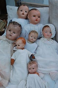 Dolls were regimented into schools or hospitals. I had a beautiful sprung dolls' pram. When I find out how to pin from my scanned photos I will pin it here.