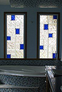 1000 images about master bath decor on pinterest for Acrylic glass block