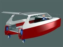 Outboard power catamaran cruiser boat plans glen l plans for sale small power catamaran google search sciox Image collections