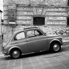 Vintage Fiat 500 Perugia    #TuscanyAgriturismoGiratola