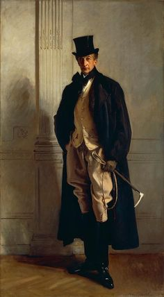 """Lord Ribblesdale,"" John Singer Sargent, Edwardian Period portrait of Thomas Lister, Baron Ribblesdale. Beaux Arts Paris, Sargent Art, Living In London, Portrait Art, Larp, American Artists, Great Artists, Oeuvre D'art, Art History"