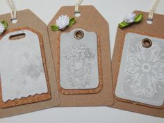 Mothers day gift tags. Rustic Gift Tags by Pearlypantscrafts, £3.00