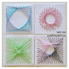 String Art with Twine