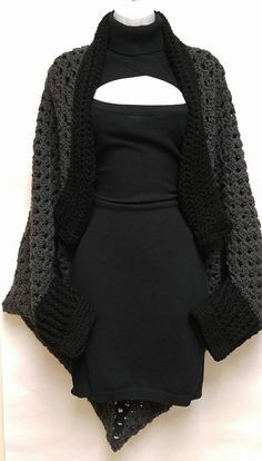 Granny Cocoon Shrug Free Pattern More