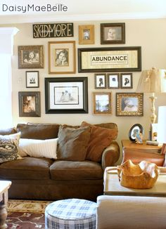 Family Room Decorations