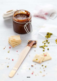 Homemade Crackers and spreads