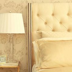 Tufted Wingback Headboard