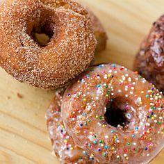 Homemade Buttermilk Doughnuts   Brown Eyed Baker heat oil to 325 degrees
