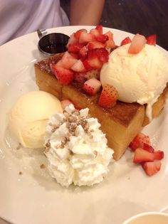 Honey Toast @After You Dessert Cafe ~ photo by JR_GIFT